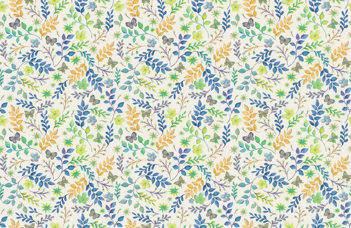 Secret Garden Fabric - Reef - by Prestigious