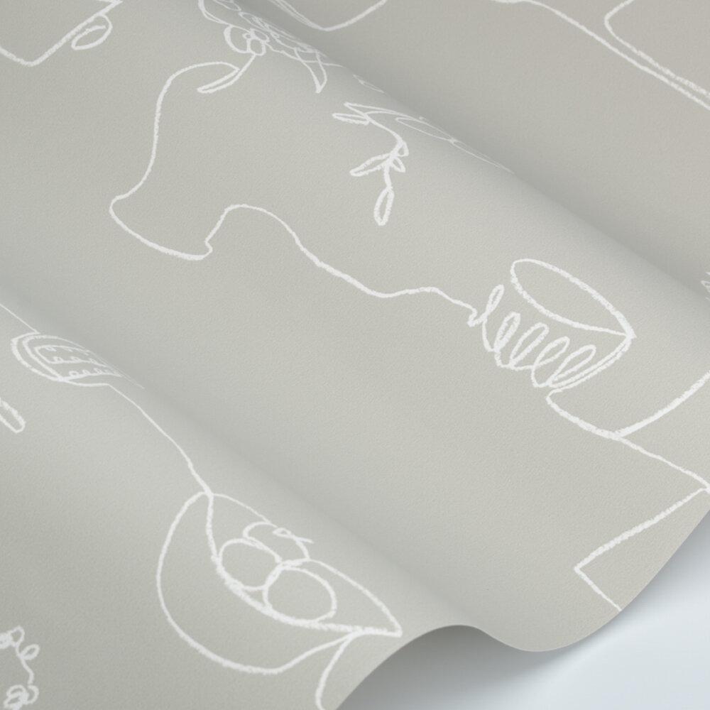 Tabletop Wallpaper - Cinder - by Villa Nova