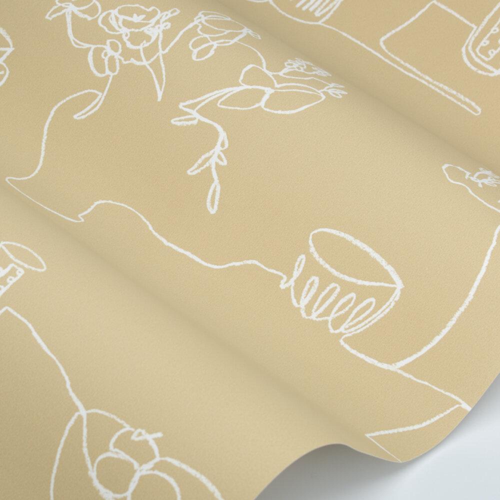 Tabletop Wallpaper - Husk - by Villa Nova