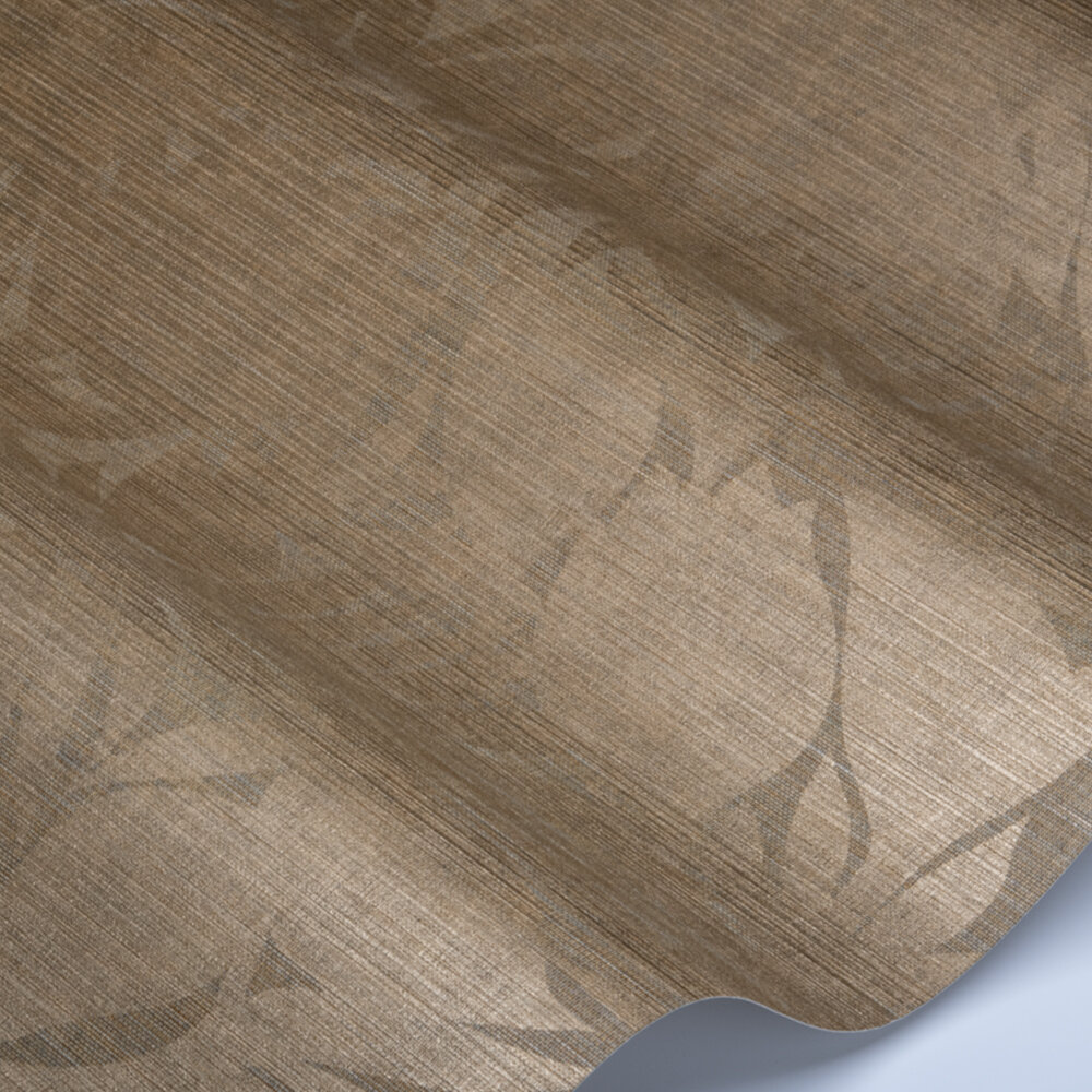 Luminance Wallpaper - Bronze - by Harlequin