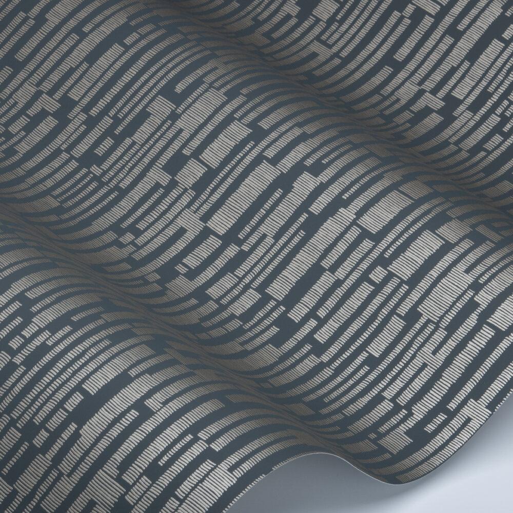 Series Wallpaper - Ebony - by Harlequin