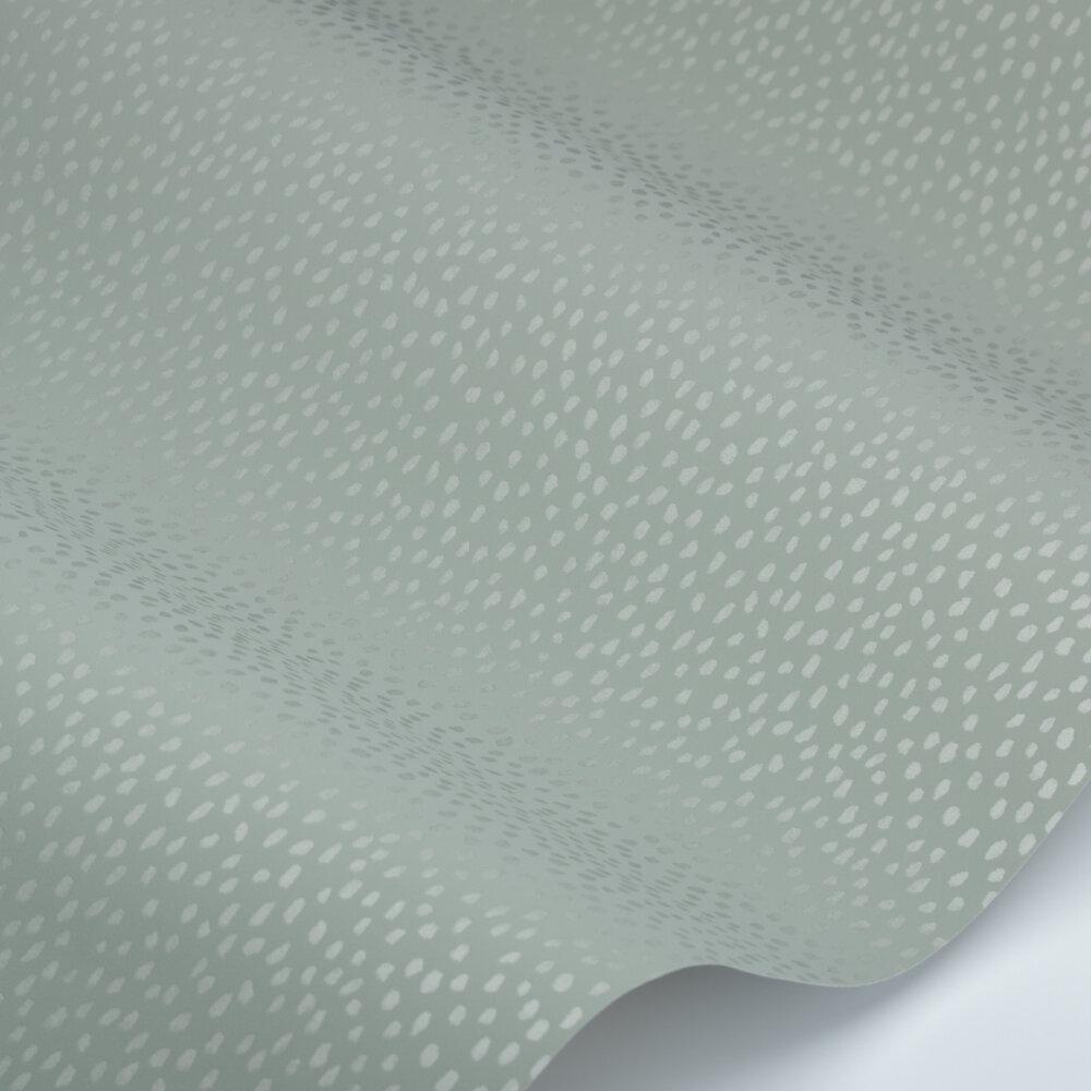 Speckle Wallpaper - Sage - by Villa Nova