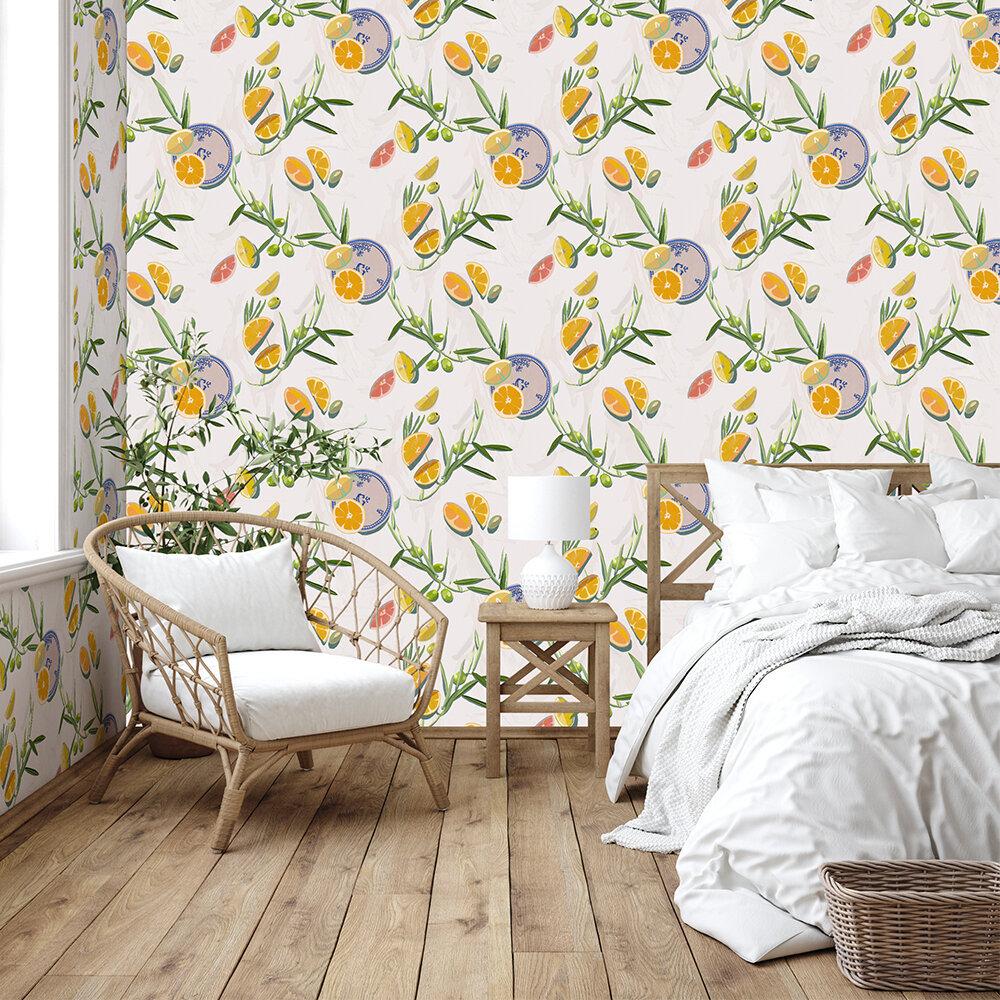 Bodegón Wallpaper - Nude - by Coordonne