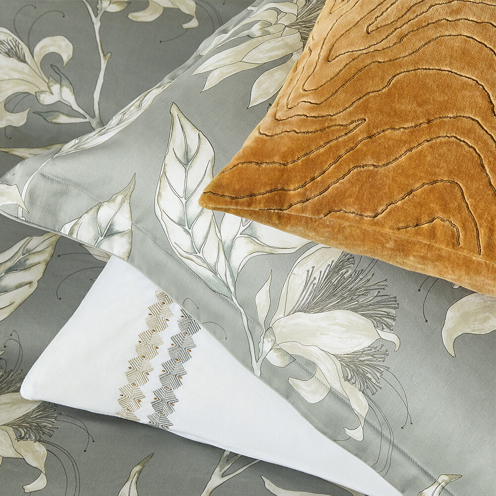 Ananda Cushion - Topaz - by Harlequin