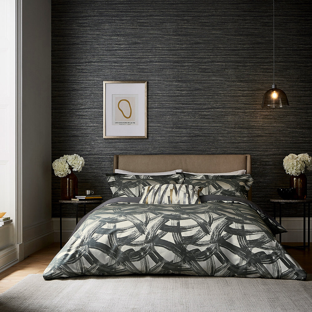 Typhonic Duvet Cover - Graphite - by Harlequin