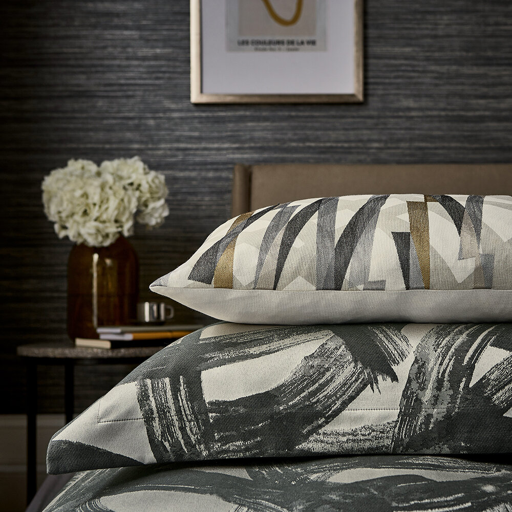 Typhonic Oxford Pillowcase - Graphite - by Harlequin