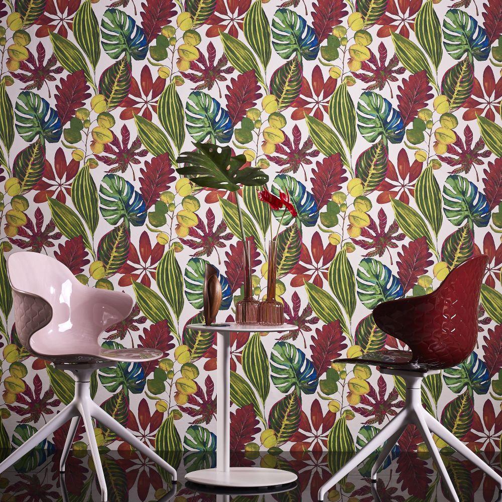 St Maarten Wallpaper - Tropical - by Prestigious