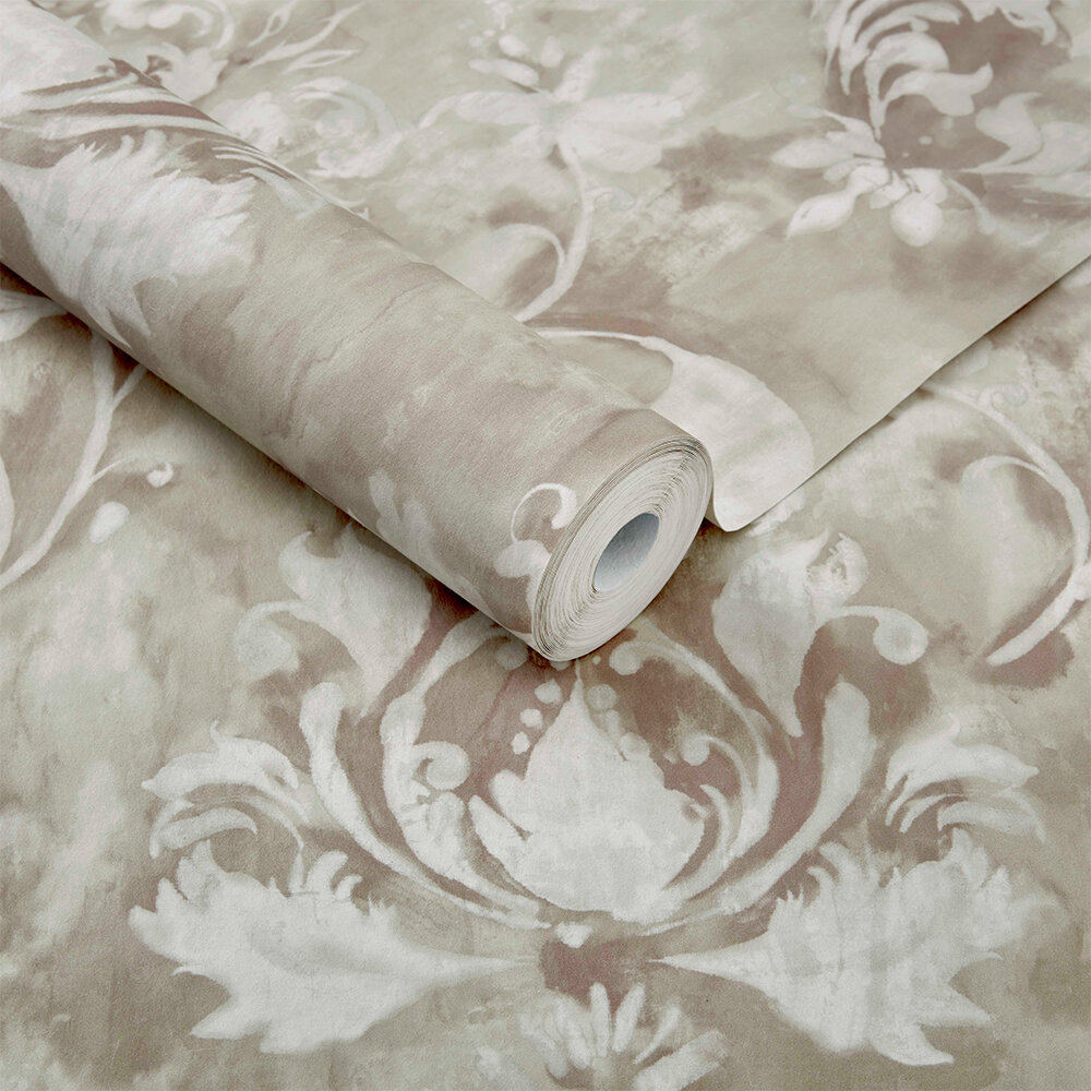 Ornamenta Wallpaper - Sand  - by 1838 Wallcoverings