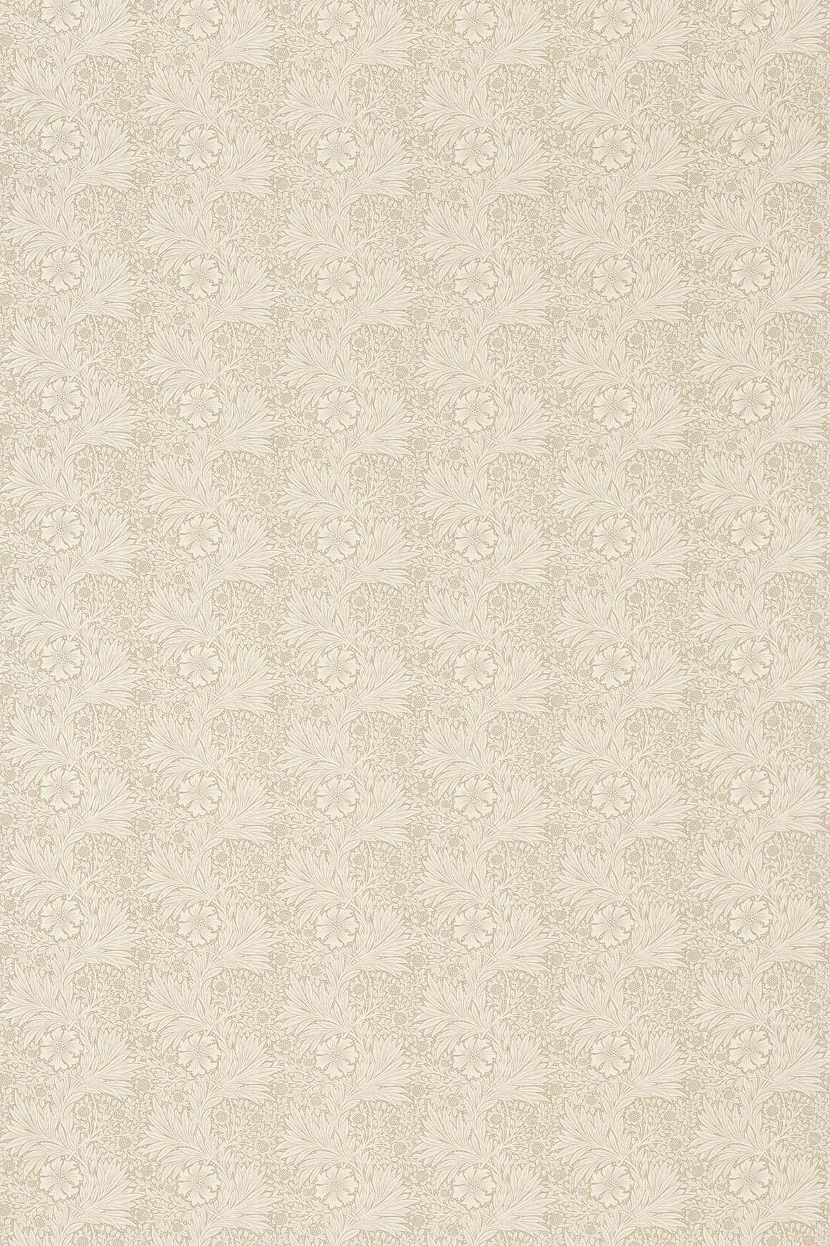 Marigold Fabric - Linen / Ivory - by Morris