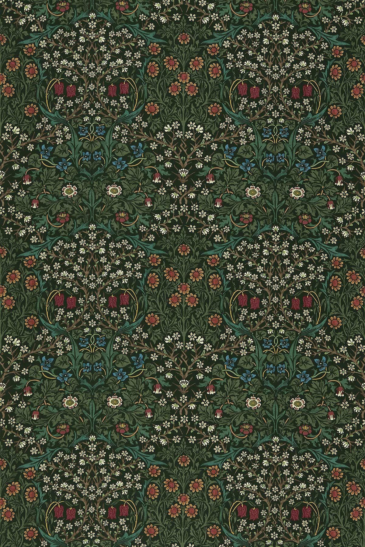 Morris Fabric Blackthorn 226707