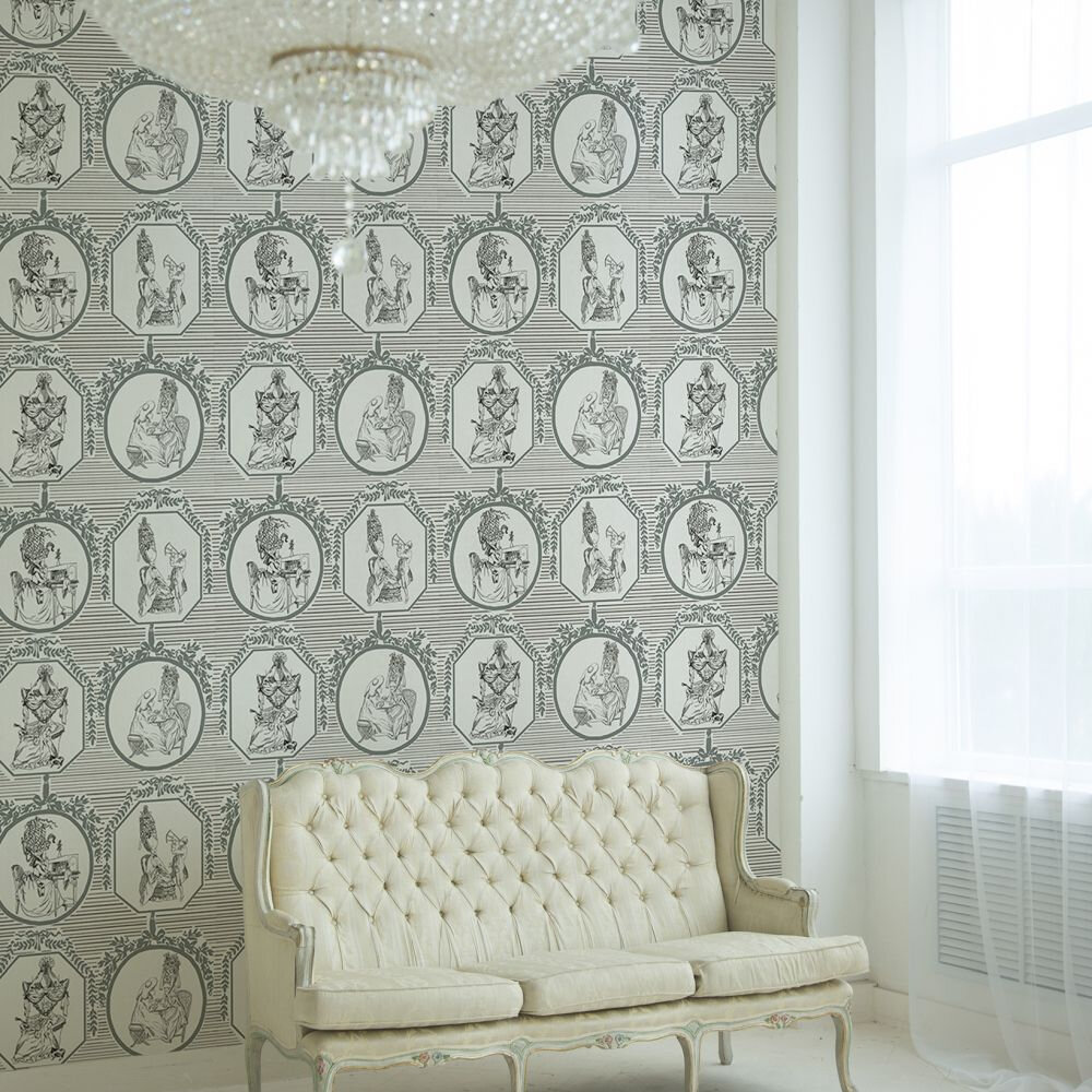 Théâtre Wallpaper - Swan - by Coordonne