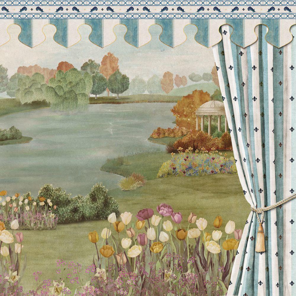 Folies Mural - Romance - by Coordonne