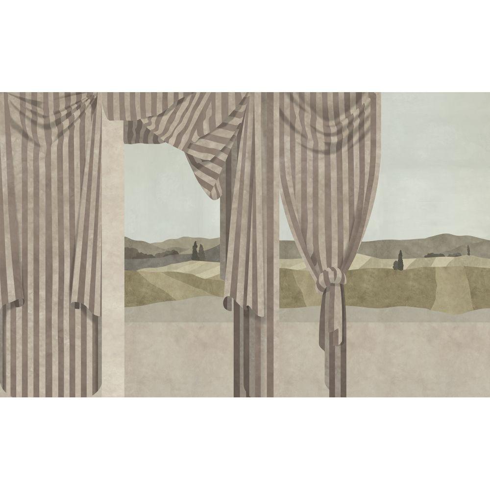 Drapé Mural - Sepia - by Coordonne