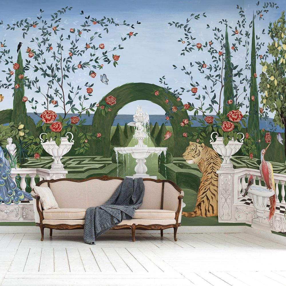 Dédale Mural - Bloom - by Coordonne