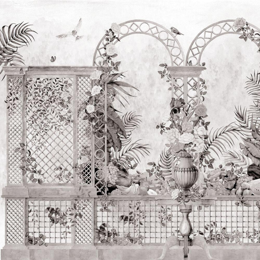 Treillage Mural - Off - by Coordonne