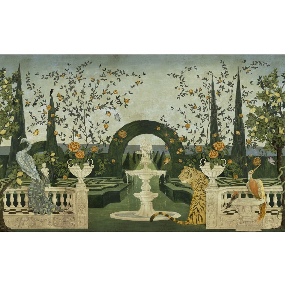 Dédale Mural - Vintage - by Coordonne