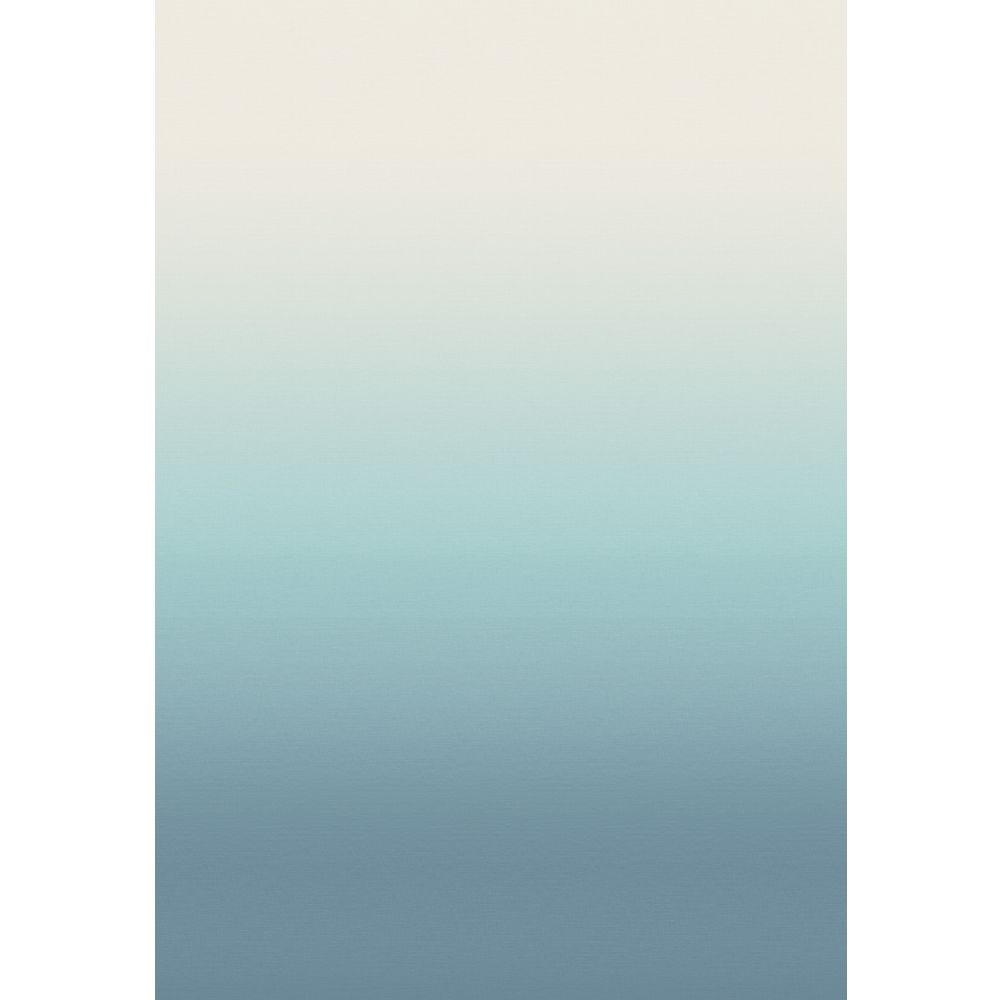 Horizon Mural - Pale Blue - by Elizabeth Ockford