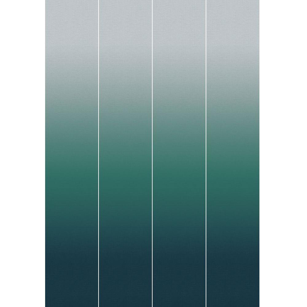 Horizon Mural - Deep Blue - by Elizabeth Ockford