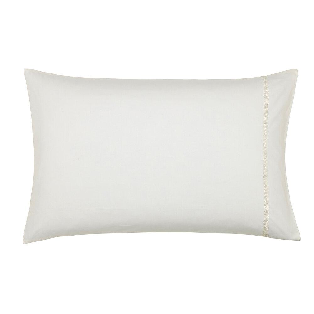 Palm House Pillowcase Pairs - Cream - by Sanderson