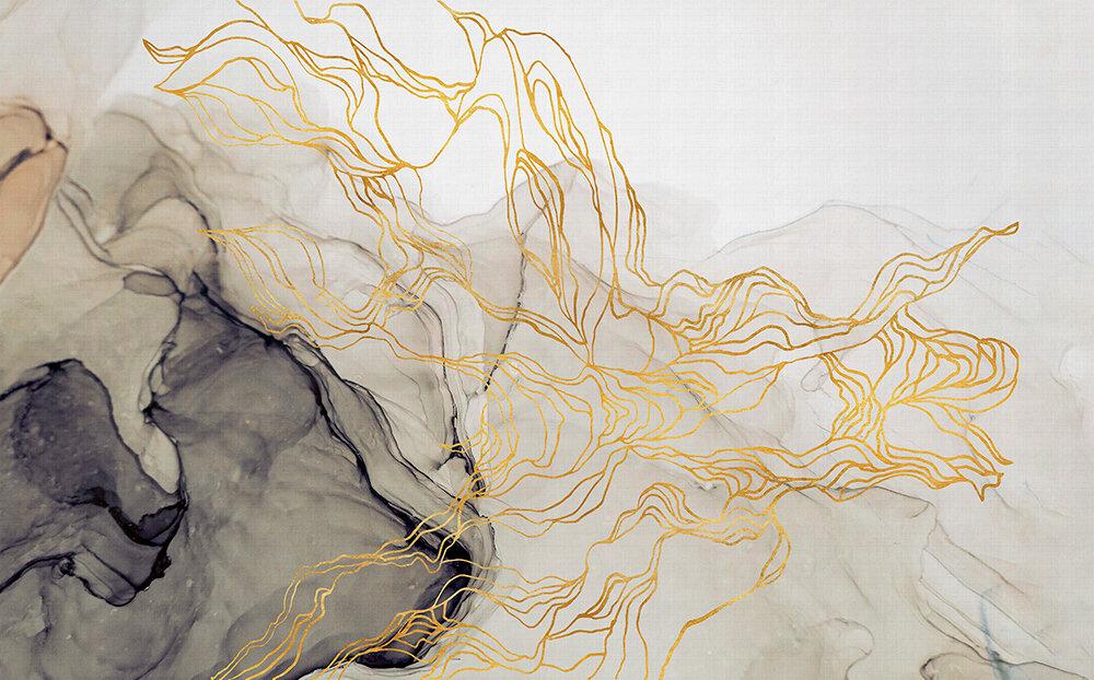 Aurora Borealis Mural - Sand - by Coordonne