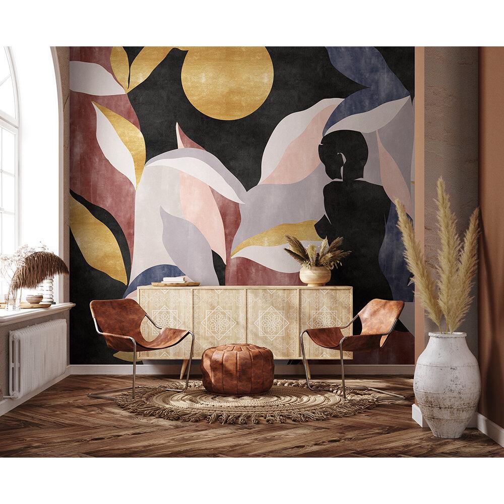 Bahir Dar Mural - Gold - by Coordonne