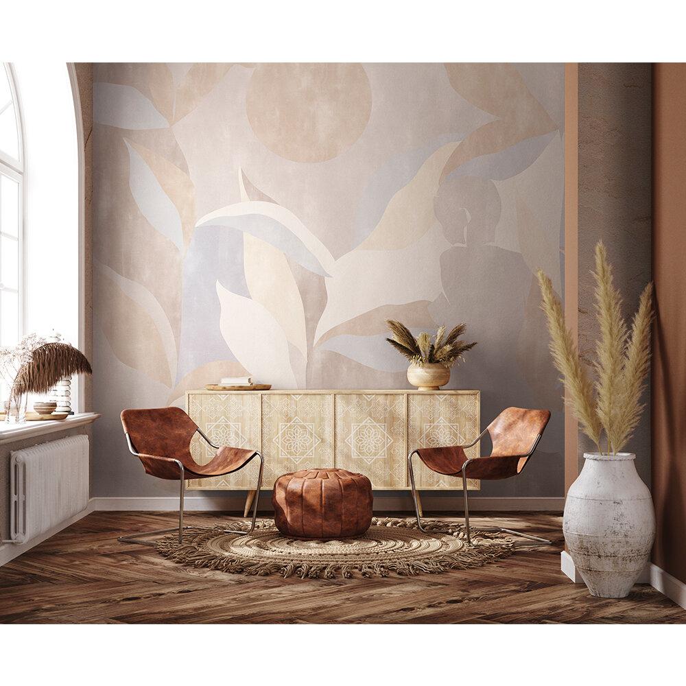 Bahir Dar Mural - Beige - by Coordonne