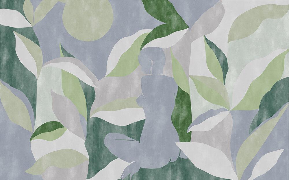 Bahir Dar Mural - Jade - by Coordonne