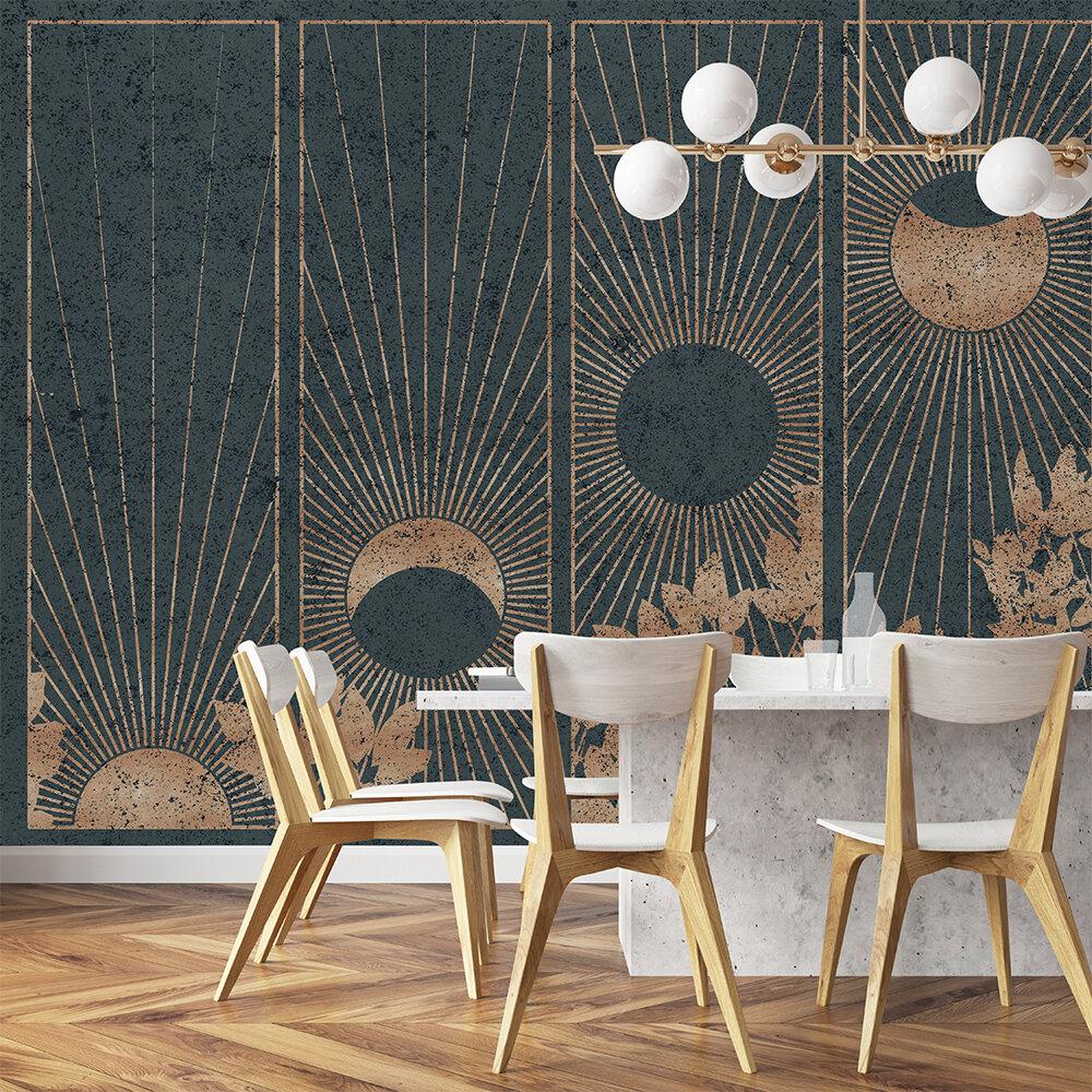 Da Lat Mural - Gold - by Coordonne