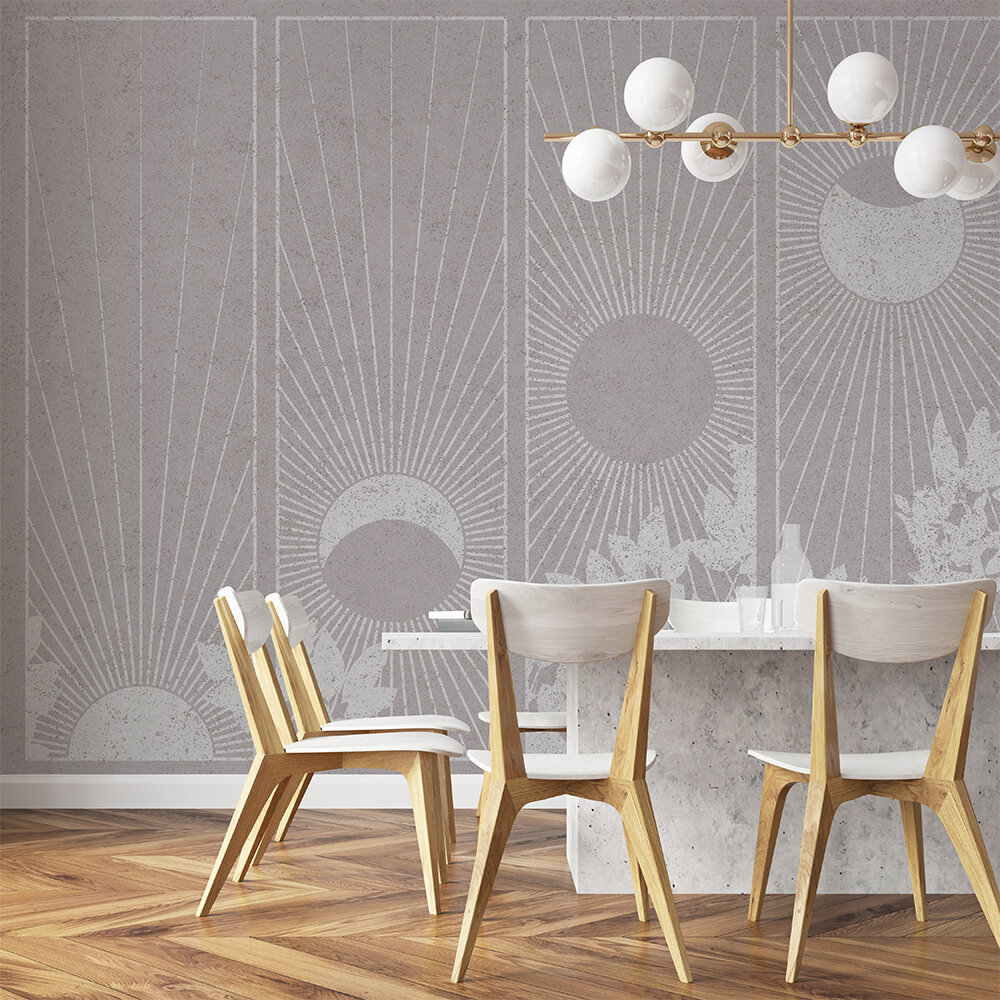 Da Lat Mural - Grey - by Coordonne