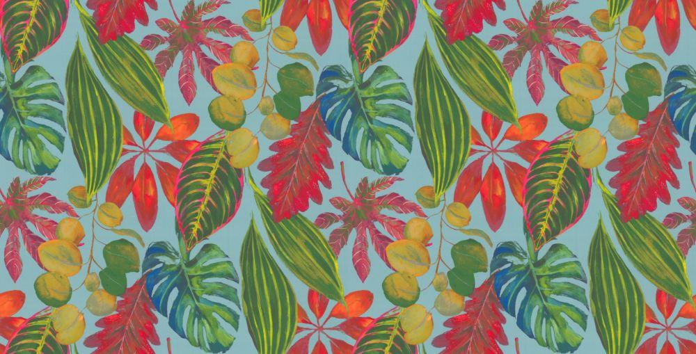 Bahamas Fabric - Watermelon - by Prestigious