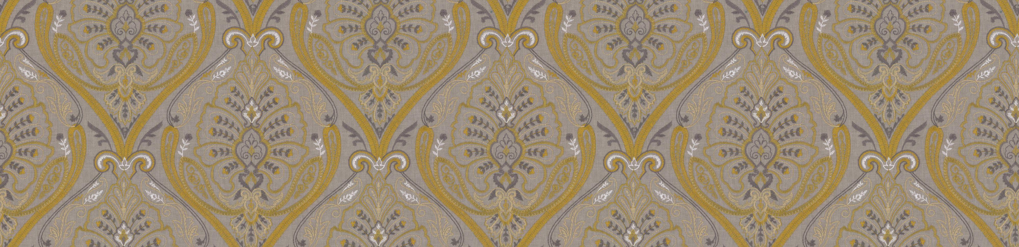 St Kitts Fabric - Citron - by Prestigious