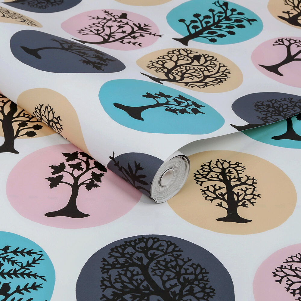 Party Land Wallpaper - Magic (Multi) - by Sacha Walckhoff x Graham & Brown