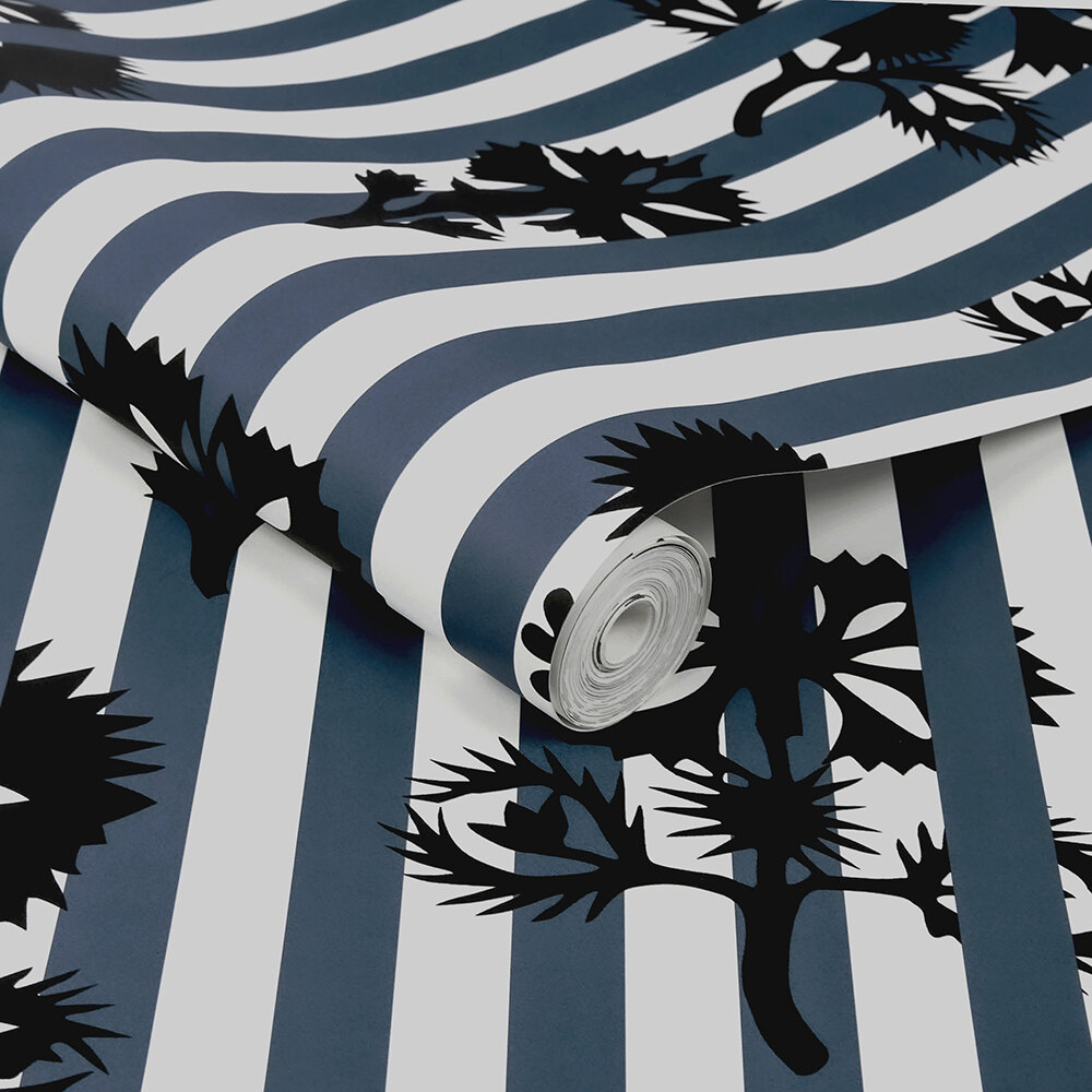 Hide and Seek Wallpaper - Aqueous - by Sacha Walckhoff x Graham & Brown