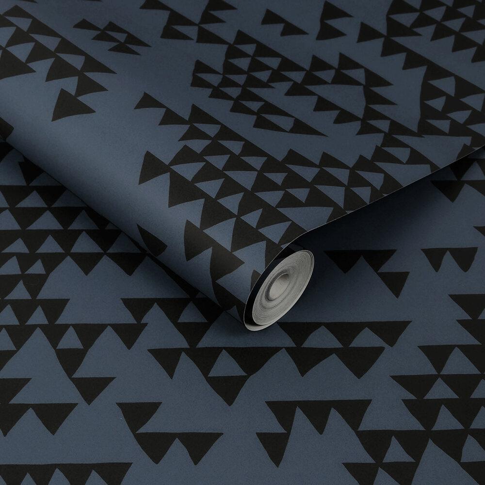 Secret Mountain Wallpaper - Shadow - by Sacha Walckhoff x Graham & Brown