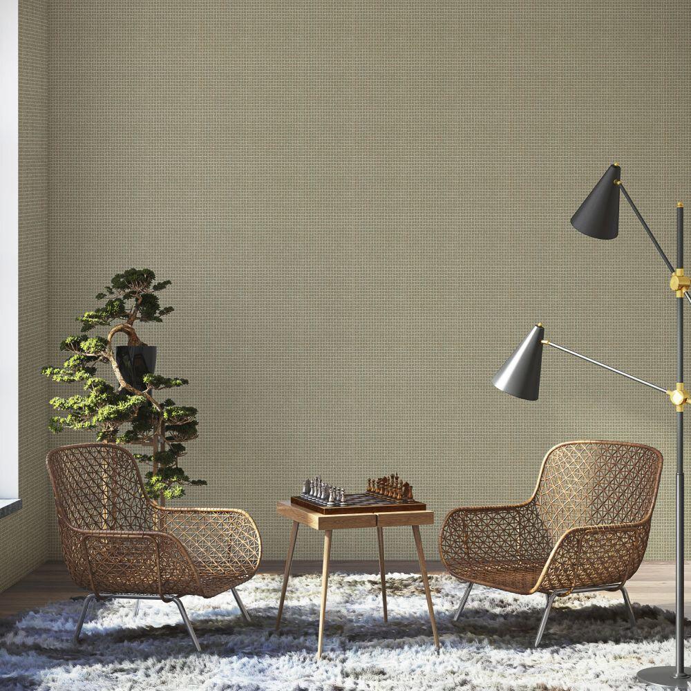 Design 2 Wallpaper - Vanille & Pistache Colour Story - Duck Egg - by Coordonne