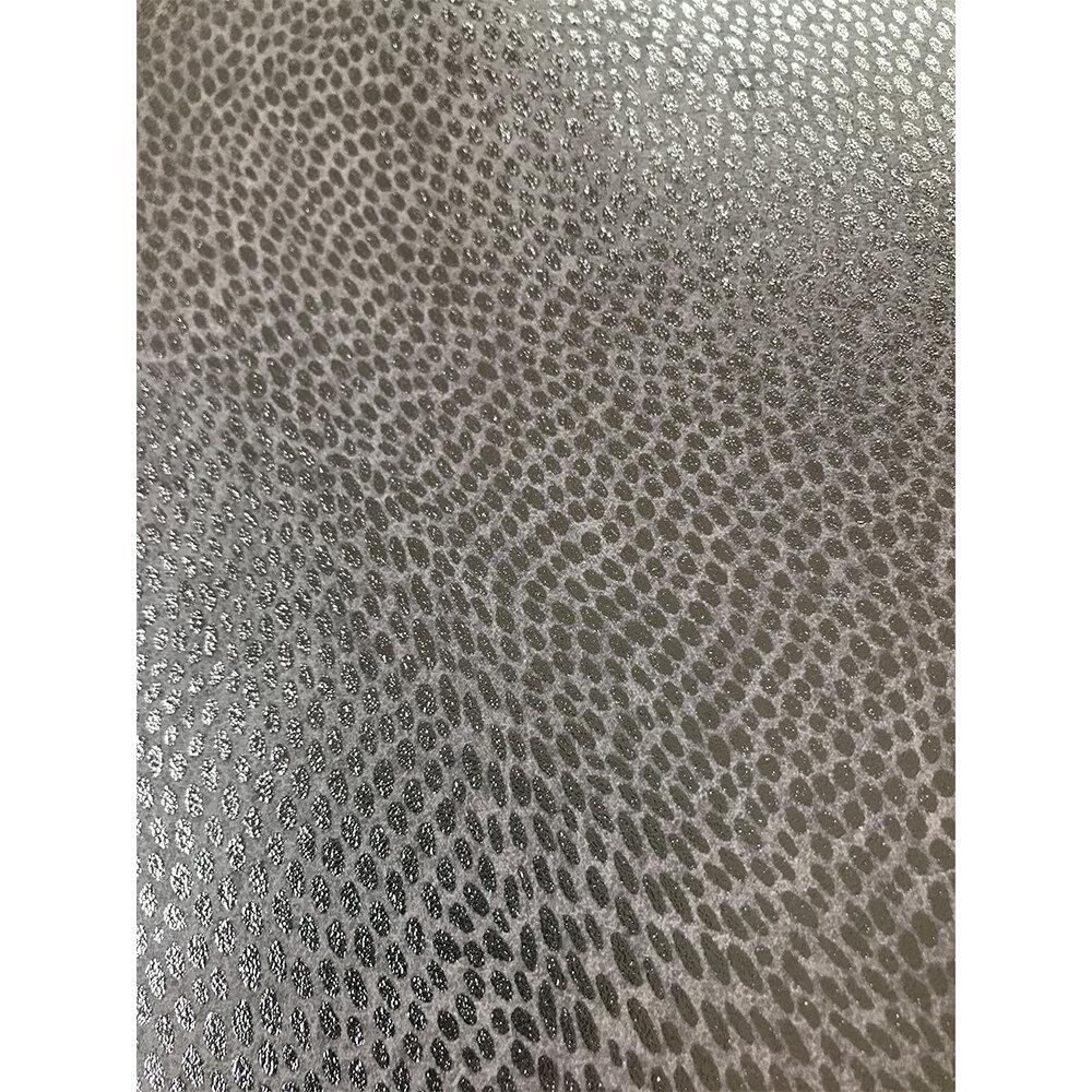 Mashiko Wallpaper - Taupe/ Silver - by Osborne & Little