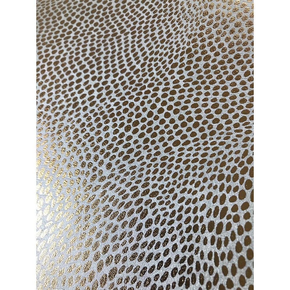 Mashiko Wallpaper - Aqua/ Gold - by Osborne & Little
