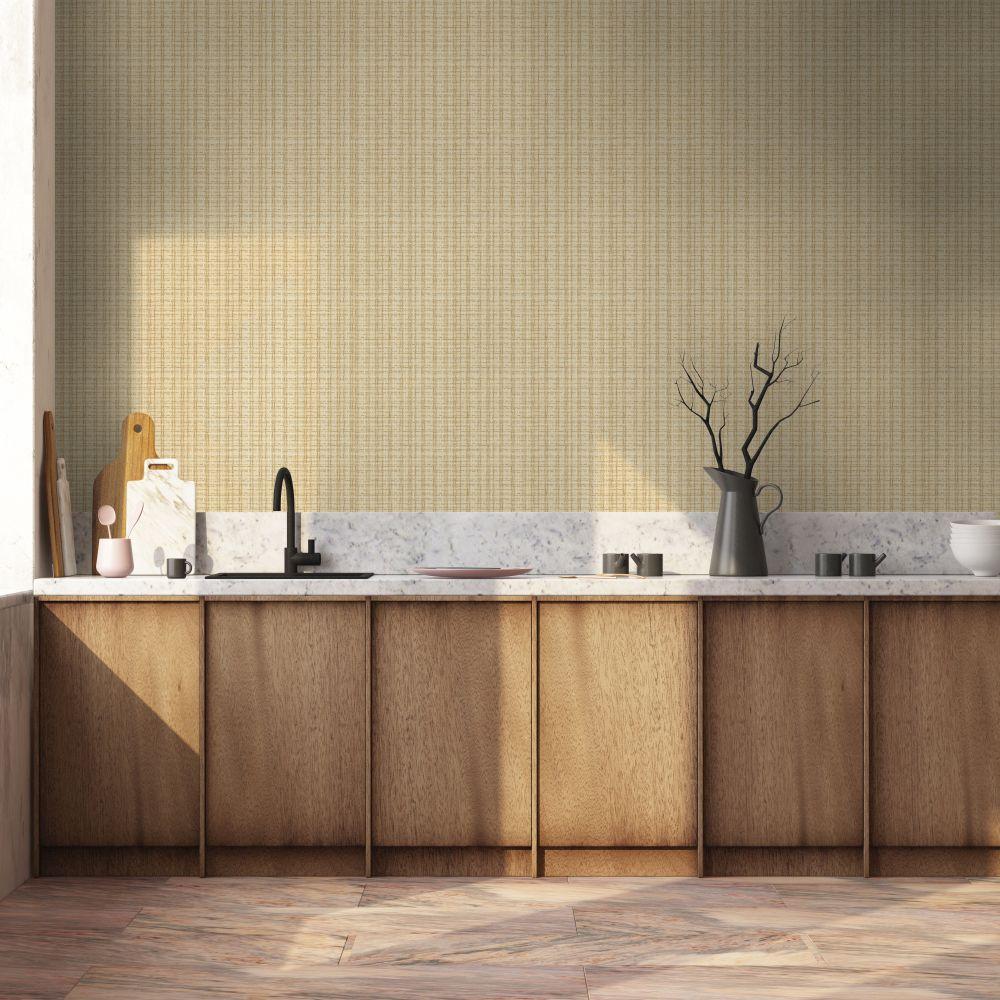 Design 4 Wallpaper - Natural & Jute Colour Story - Cream - by Coordonne