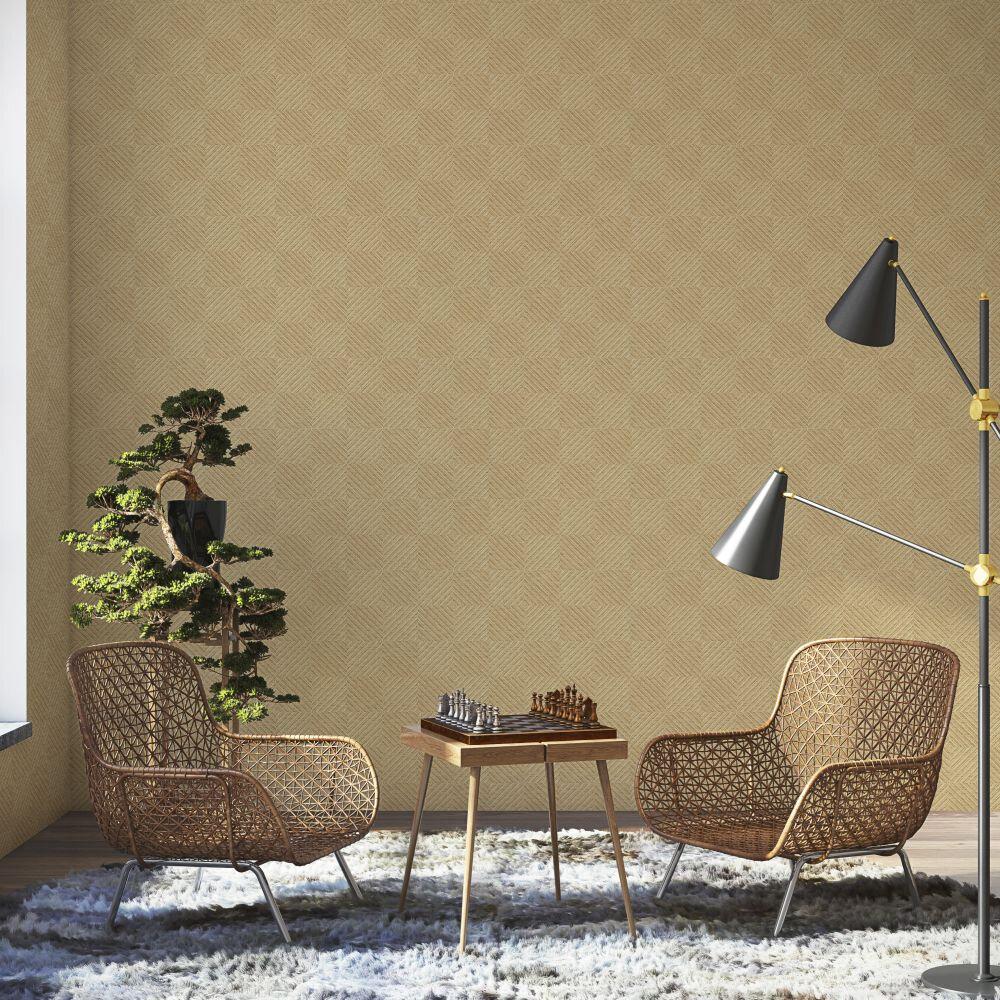 Design 5 Wallpaper - Natural & Jute Colour Story - Natural - by Coordonne