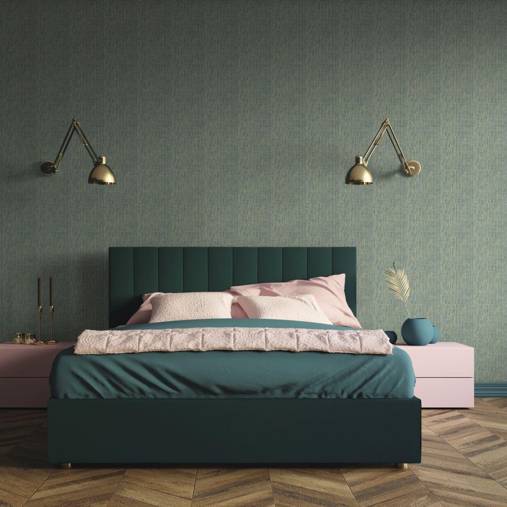 Design 11 Wallpaper - Vanille & Pistache Colour Story - Aqua - by Coordonne