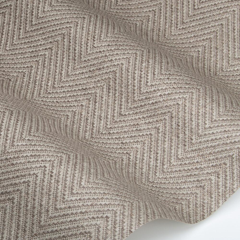 Design 14 Wallpaper - Perle & Neige Colour Story - Grey - by Coordonne