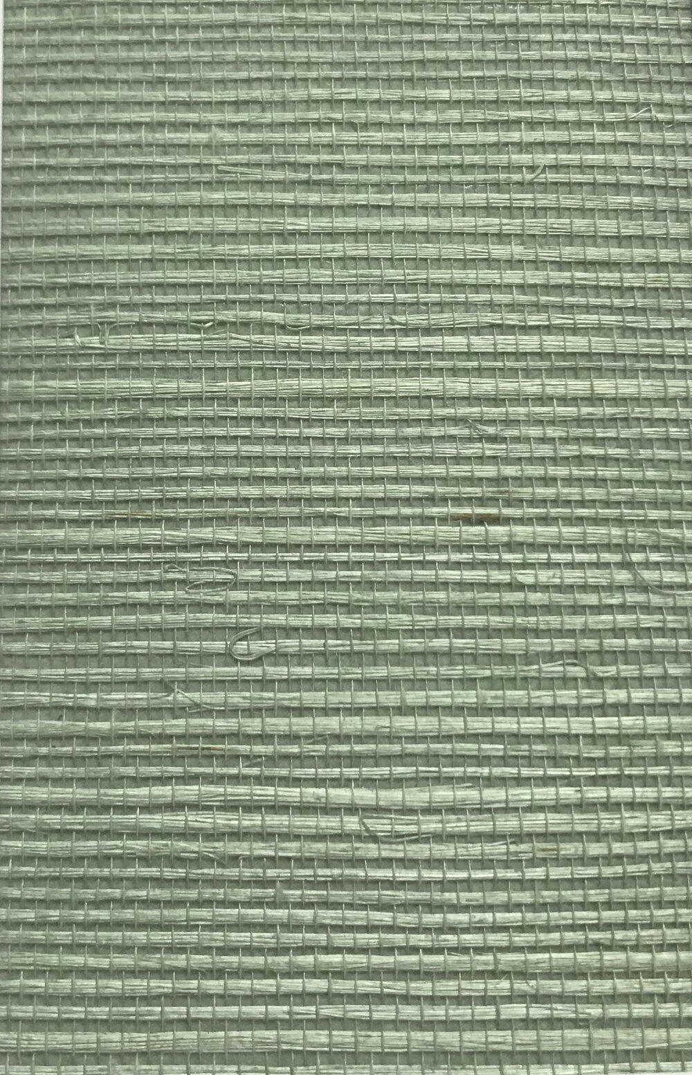 Kanoko Grasscloth Wallpaper - Celadon - by Osborne & Little