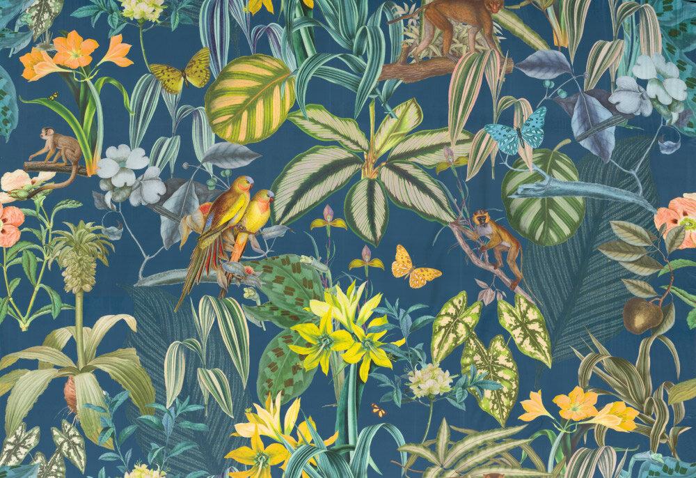 Barbados Fabric - Lagoon - by Prestigious