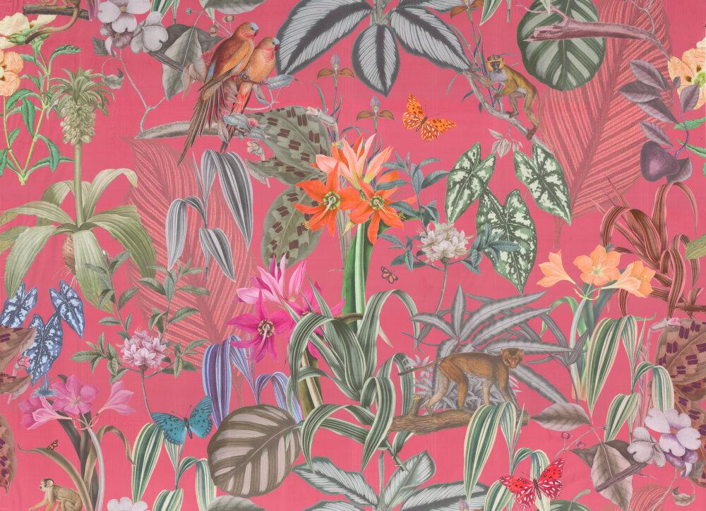 Barbados Fabric - Watermelon - by Prestigious