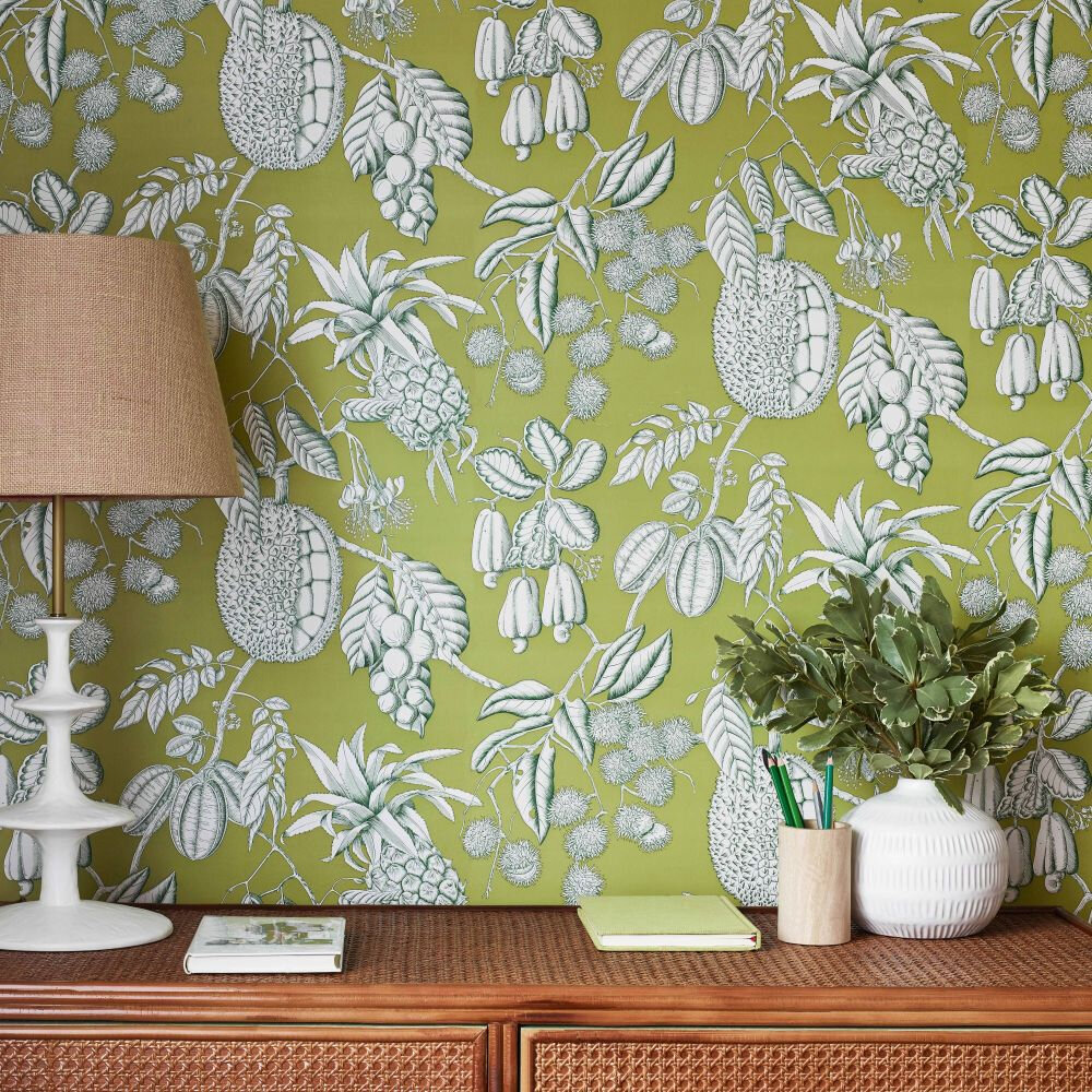 Balangan Wallpaper - Kiwi - by Manuel Canovas