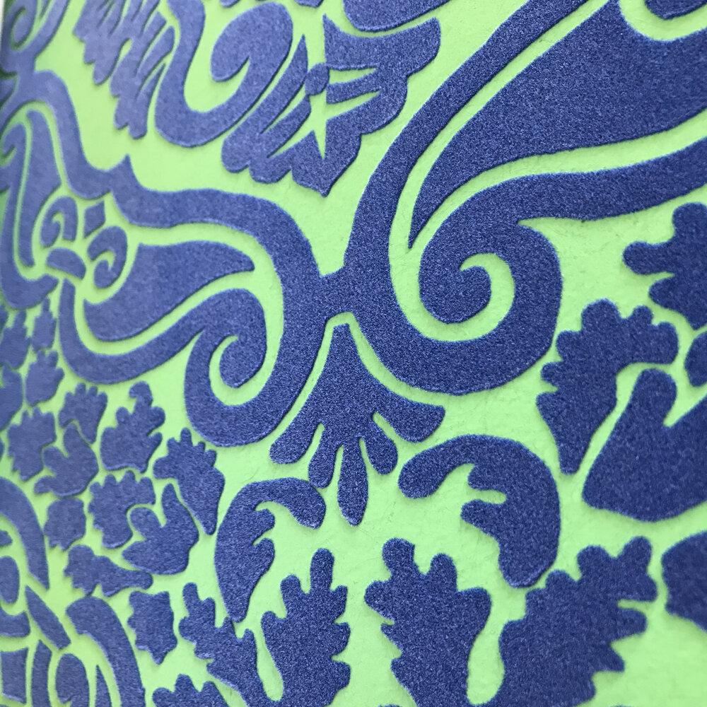 Fioravanti  Wallpaper - Cobalt - by Designers Guild
