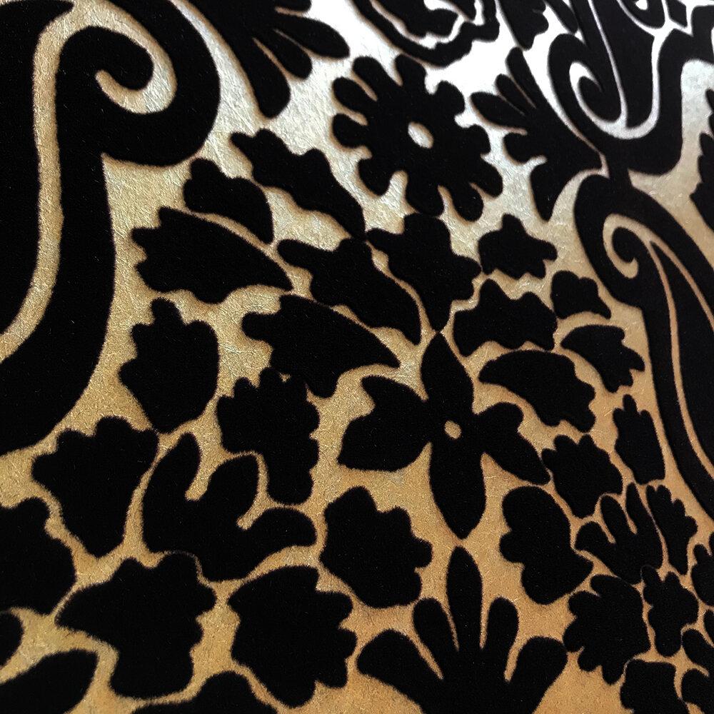 Fioravanti  Wallpaper - Espresso - by Designers Guild