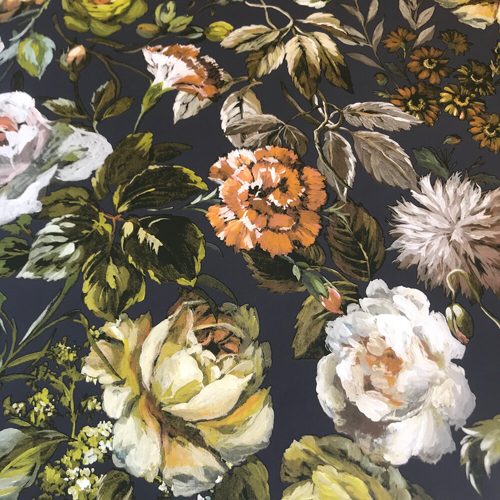 Mansur  Wallpaper - Ochre - by Designers Guild