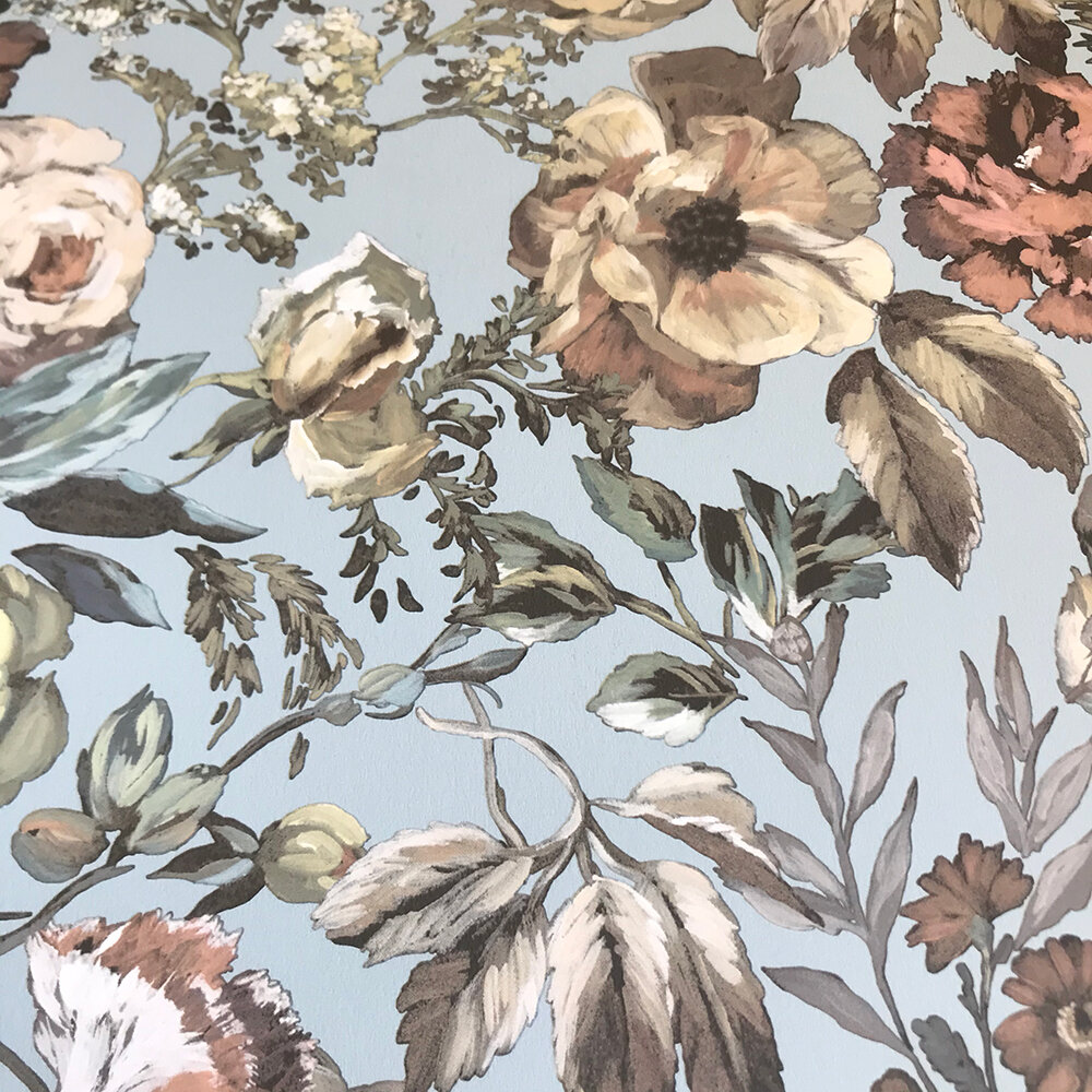 Mansur  Wallpaper - Eau de Nil - by Designers Guild