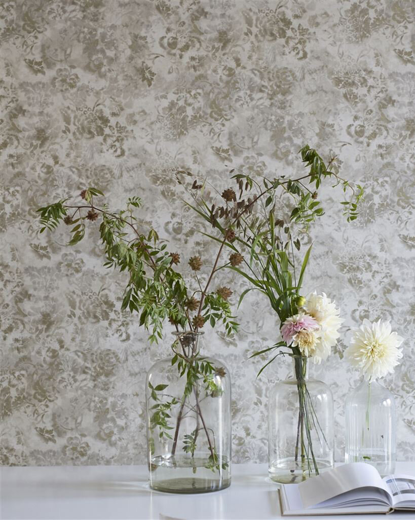 Tarbana  Wallpaper - Linen - by Designers Guild